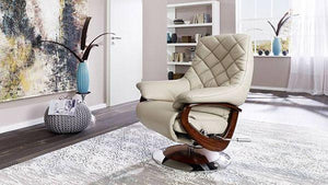 America Recliner Chair with Integrated Footrest + bydesigntexas.com