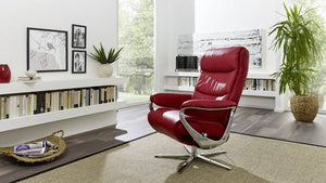 Himolla Arctica Recliner Chair with Integrated Footrest - Affordable Modern Furniture at By Design