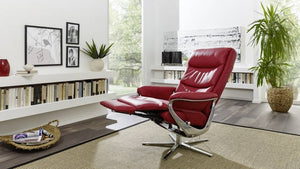 Arctica Recliner Chair with Integrated Footrest by Himolla Germany - Affordable Modern Furniture at By Design