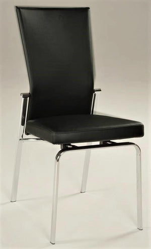 Lina Motion Dining Chair -Chrome Base