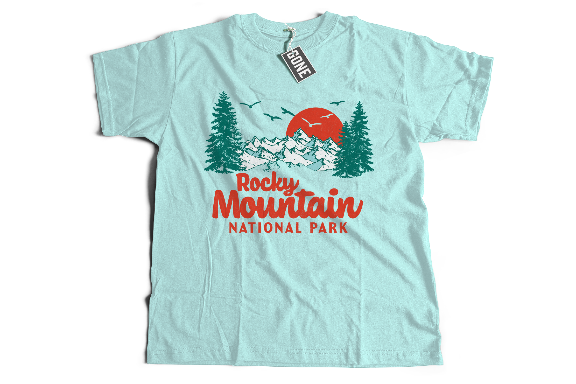 Rocky Mountain National Park Short-Sleeve Unisex T-Shirt