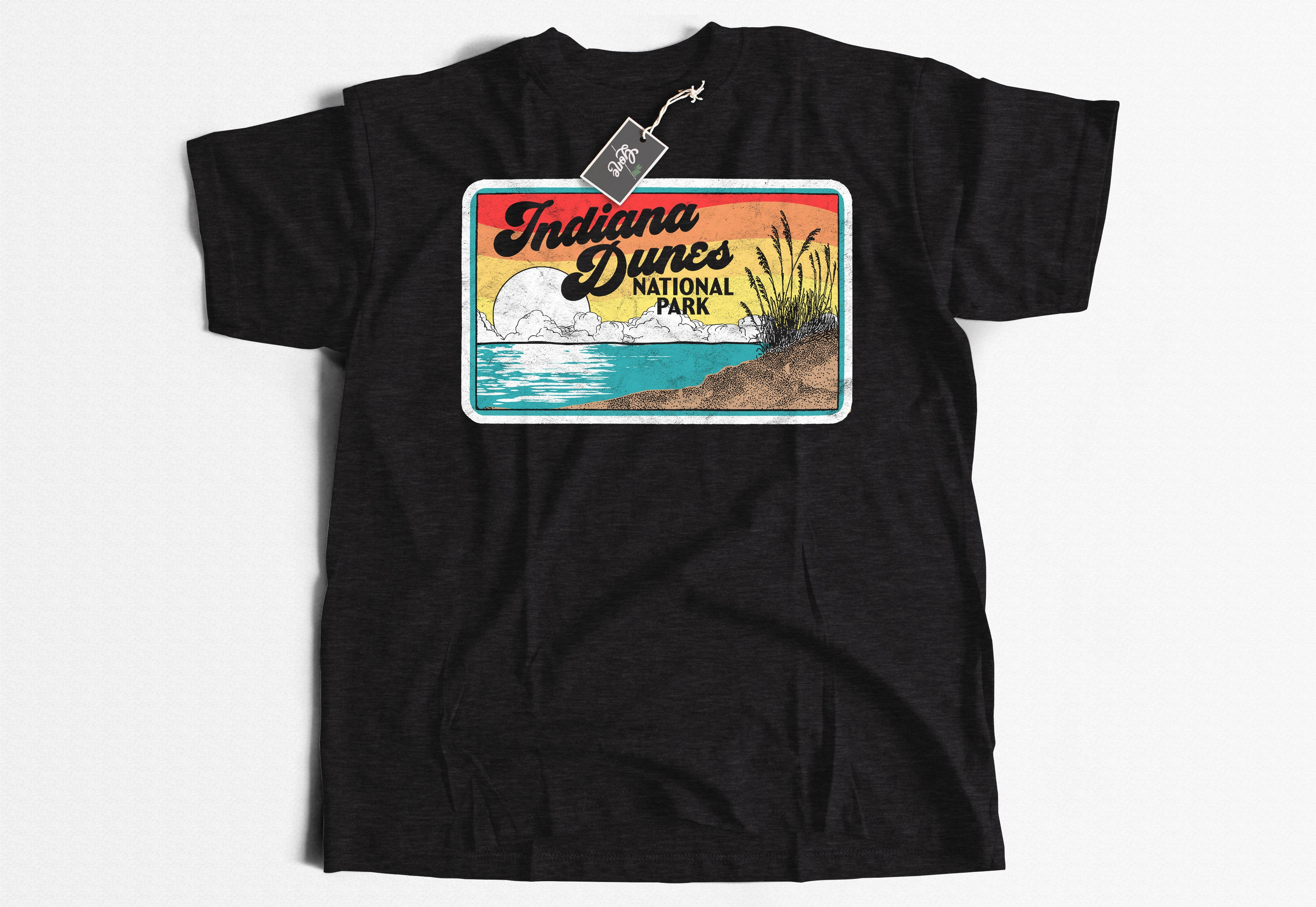 Indiana Dunes America's Newest National Park Short-Sleeve Unisex T-Shirt