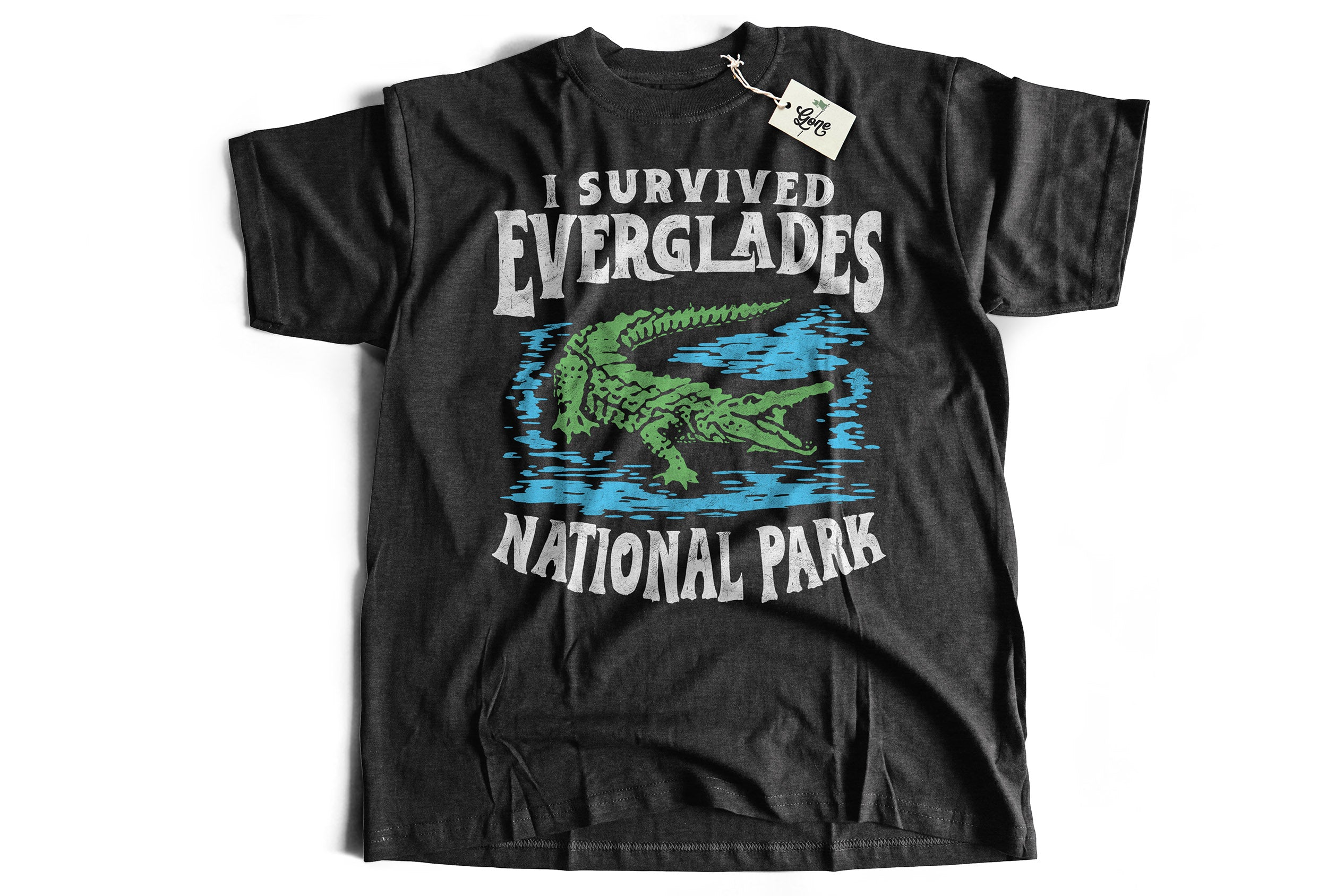 Everglades National Park Florida Survivor Funny Short-Sleeve Unisex T-Shirt