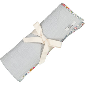 Dove Grey Muslin Blanket