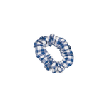 Scrunchie - Blue Gingham  (Small)