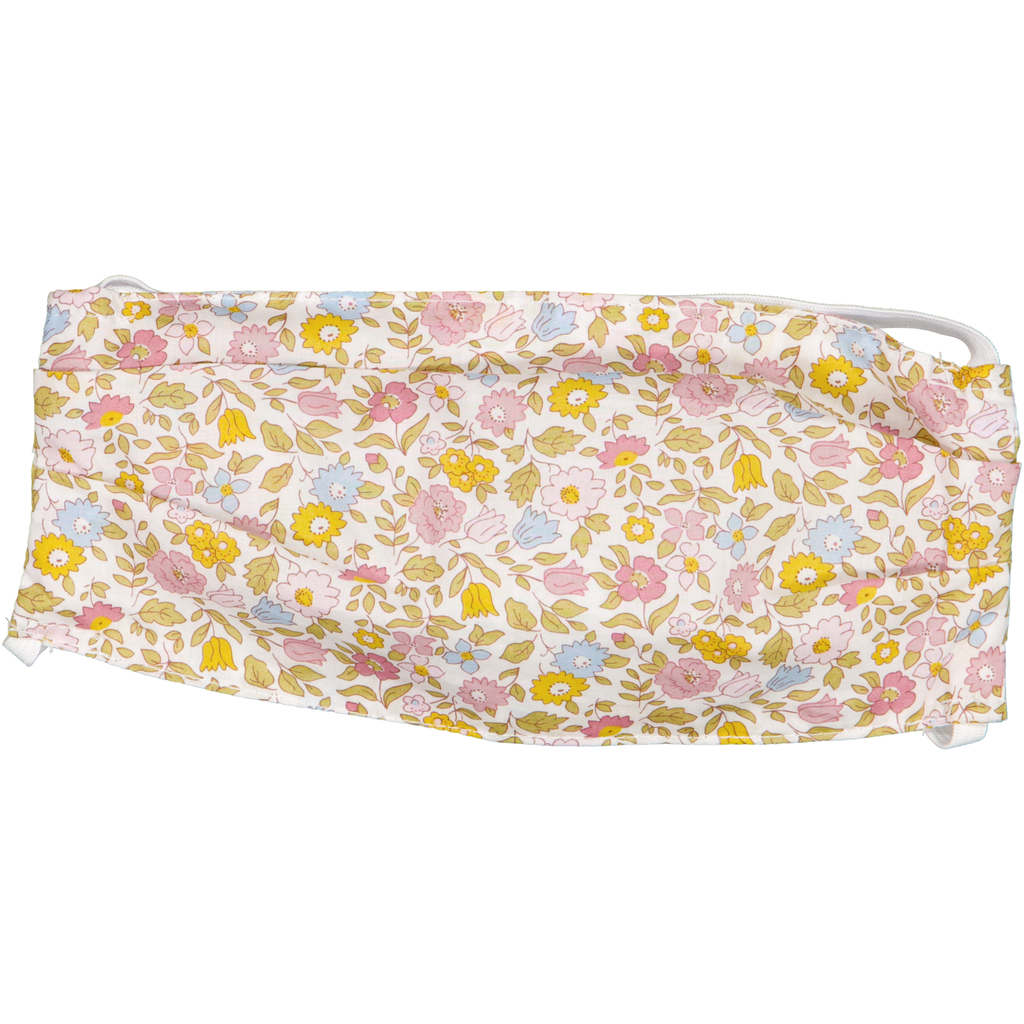 Liberty pastel floral - Adult Face Mask