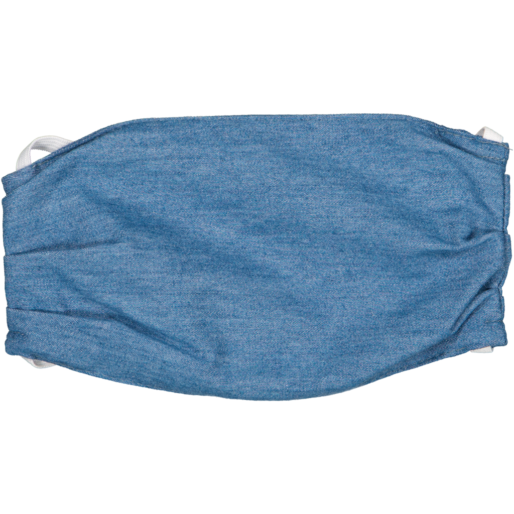 Adults Face Mask - Blue Chambray