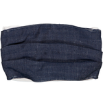 Adults Face Mask - Linen Raw Denim