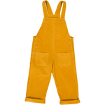 Corduroy Dungaree - Pure Cotton Mustard