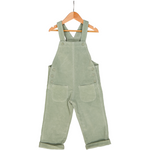 Corduroy Dungaree - Pure Cotton Pistachio Green