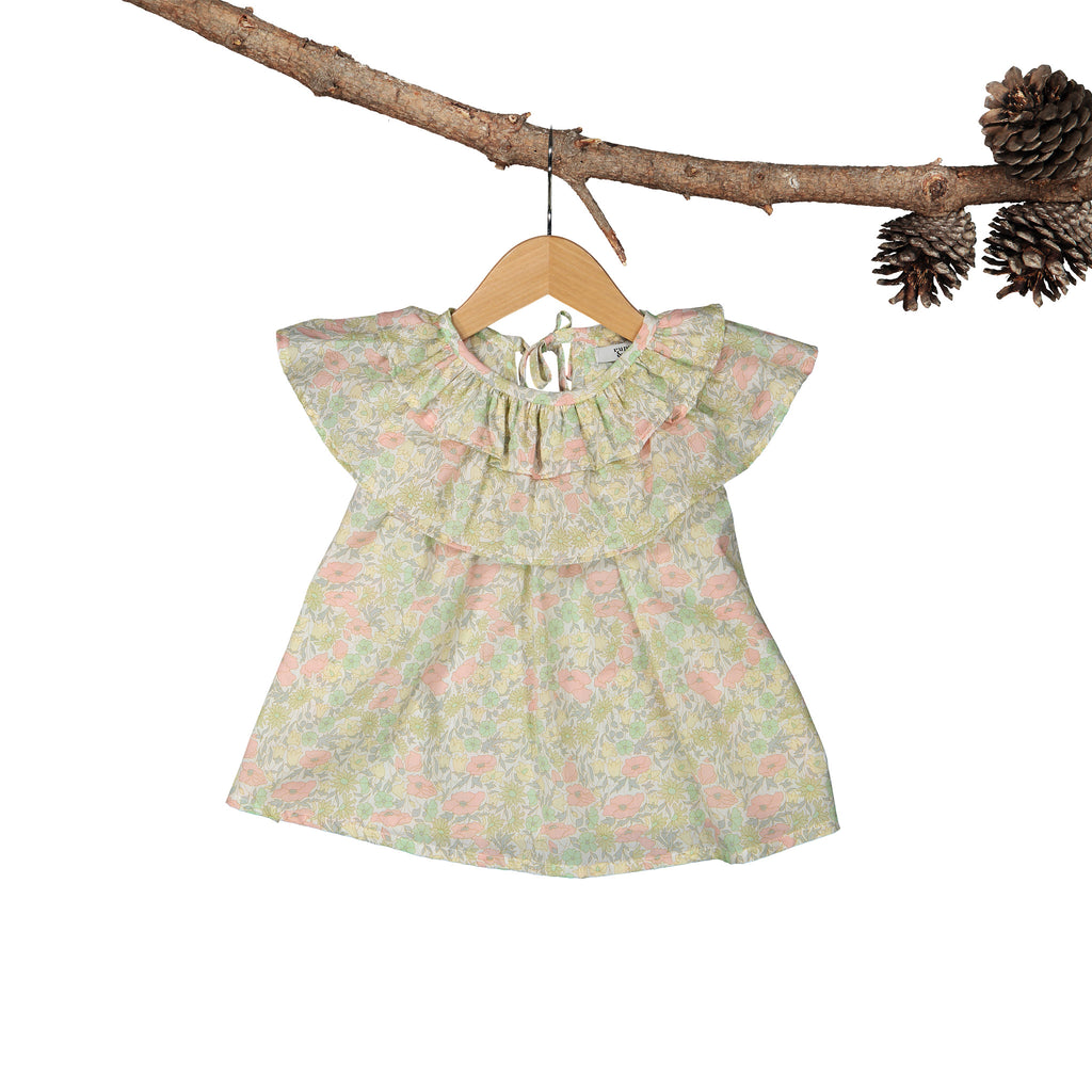 Bloom Liberty Poppy Daisy Dress
