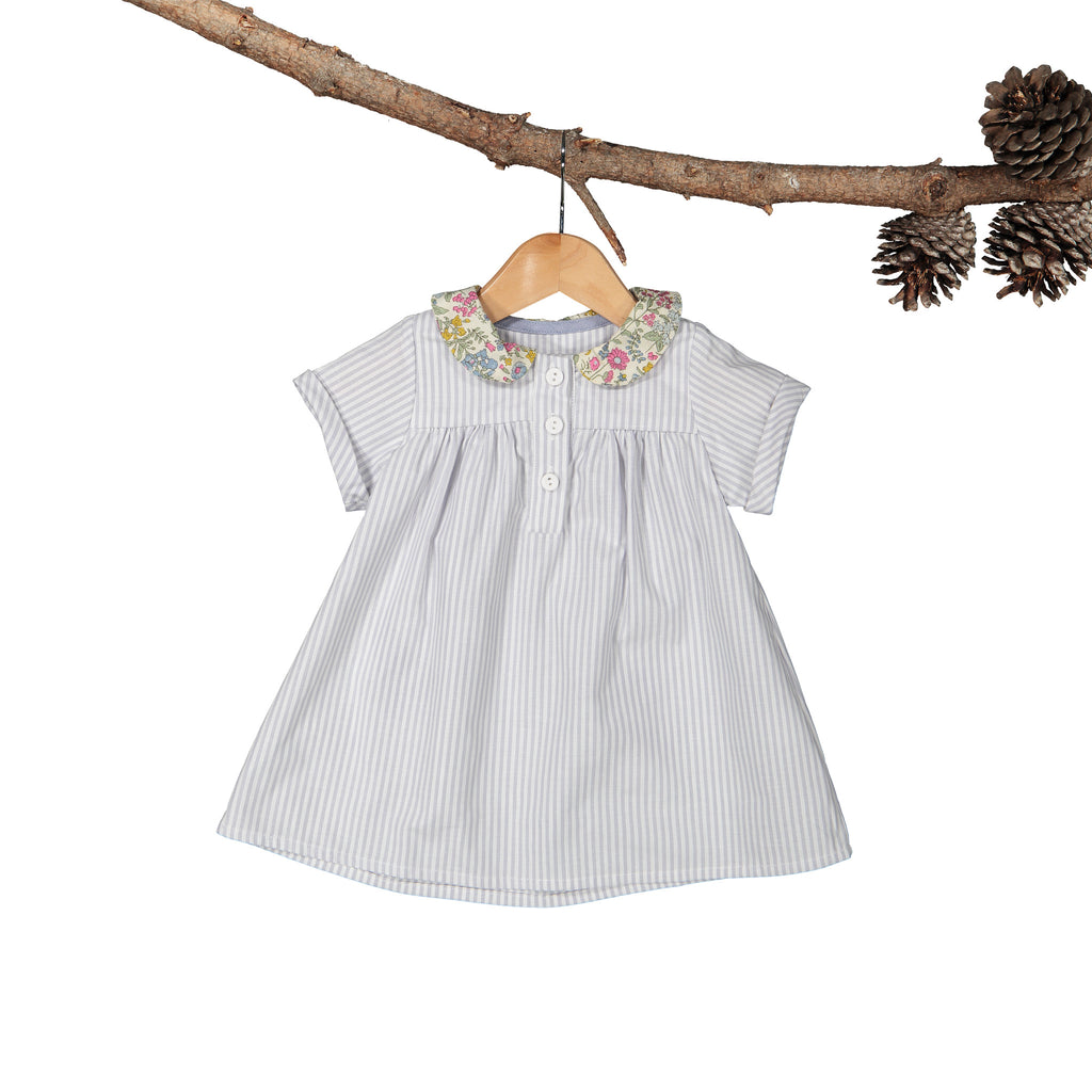 Harper Dress Botanical Collar