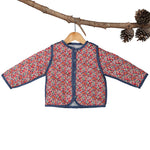 Sadie Coat Liberty With Yarn Dye Stripe Reversible
