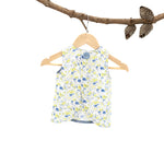 Betty Tunic Blue Flower