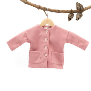 Hunter Over Coat - Pink