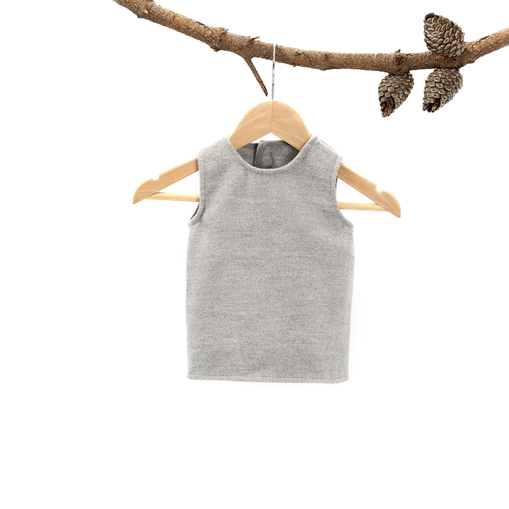 Betty Tunic Melton Grey