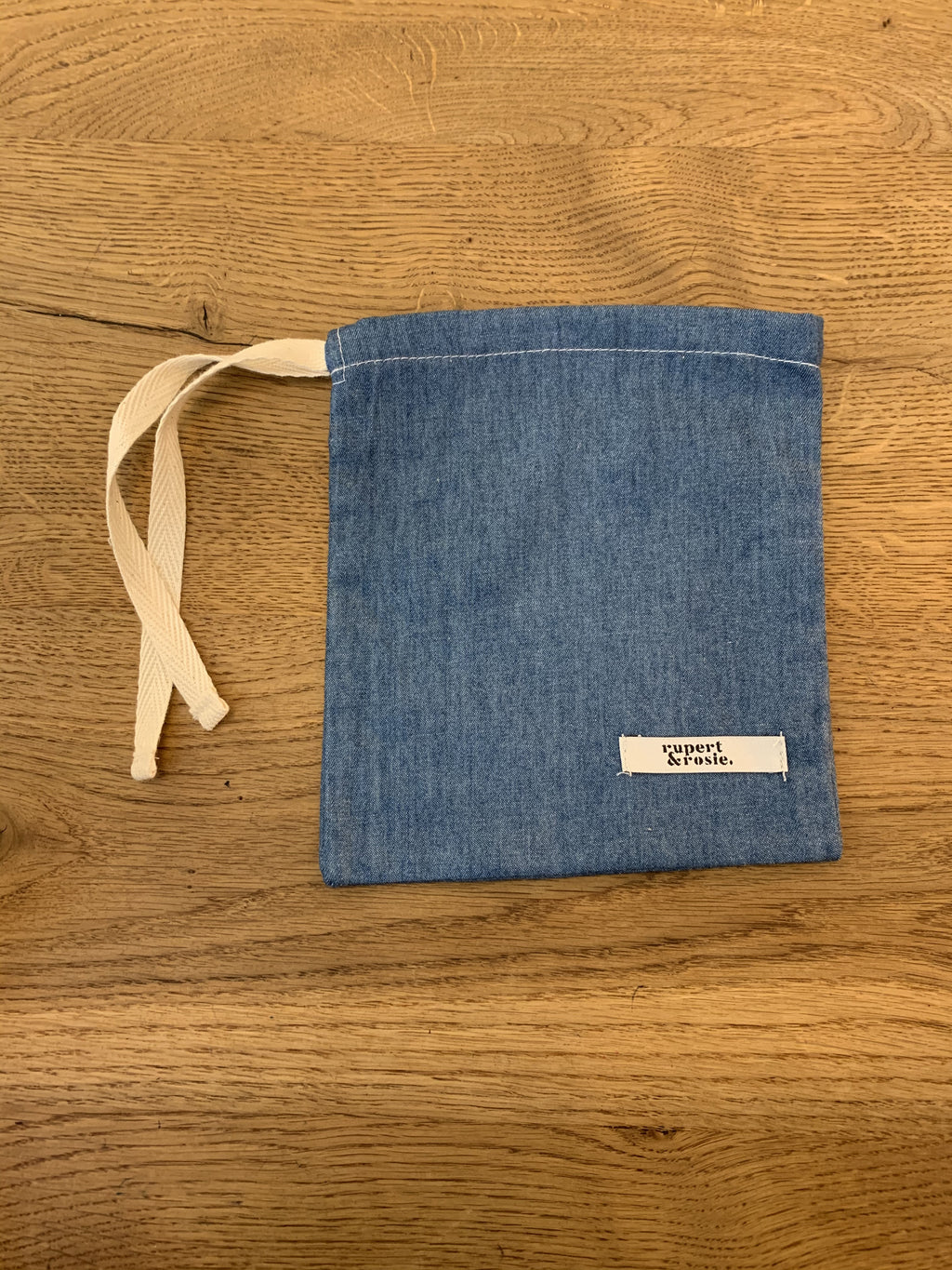 Chambray Blue Medium Marble Bag