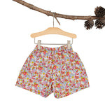 Liberty Floral Heirloom Flare shorts