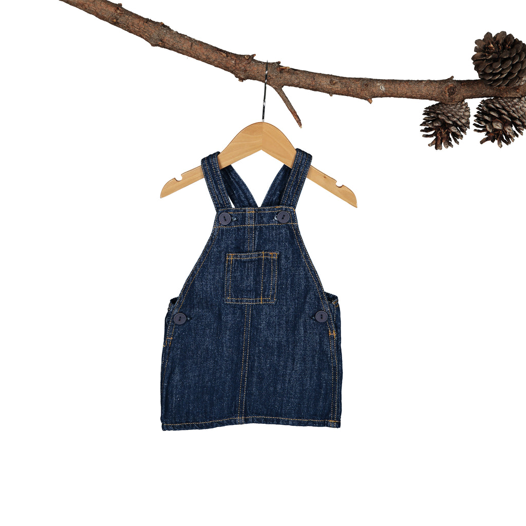 Bluebell Pinafore - Linen-Denim