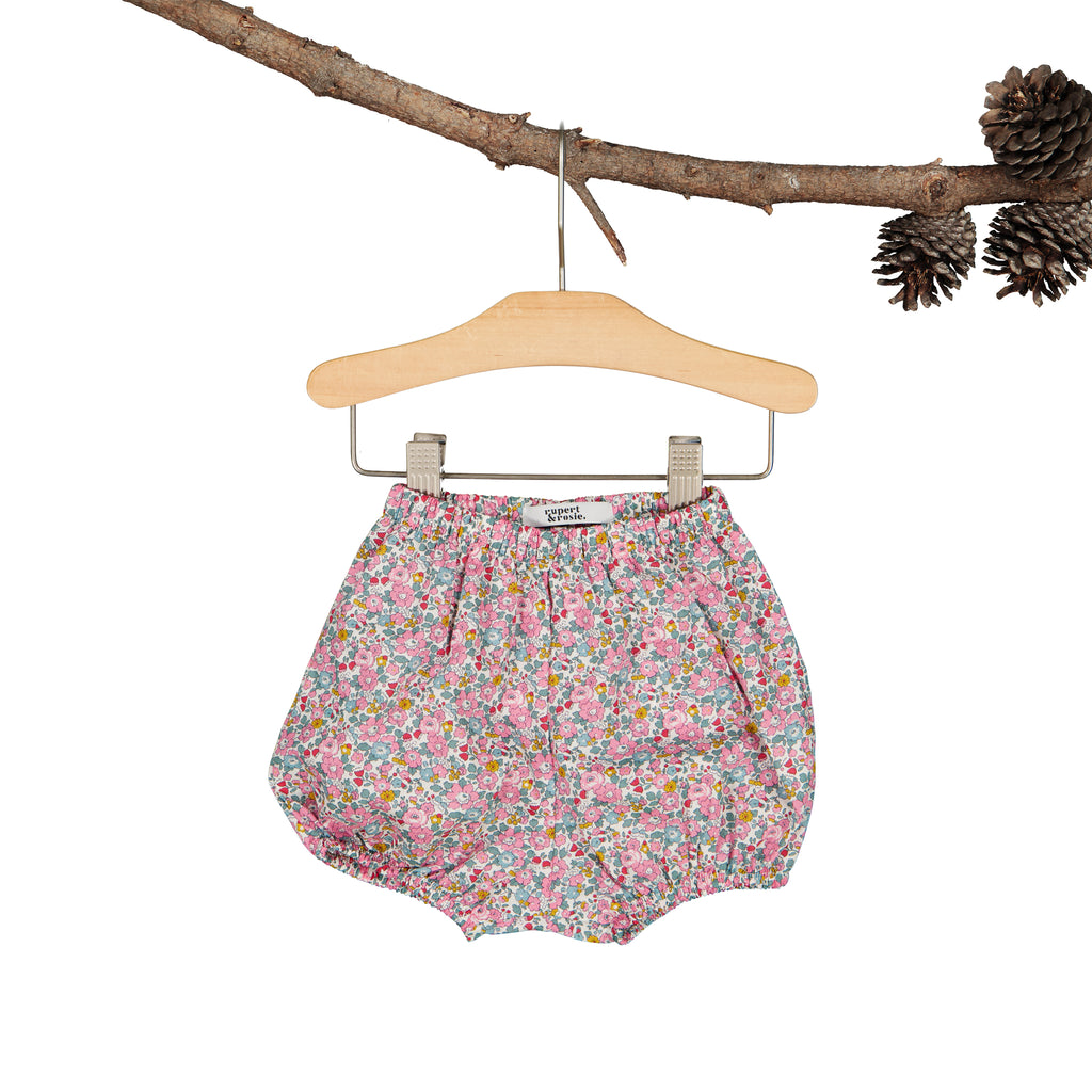 Pink Betsy Ann Heirloom Shorts