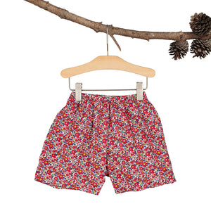Red Liberty Heirloom Flare shorts