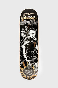 Signed Professor Legendary Skate Deck