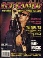 November 1993 Screamer Magazine