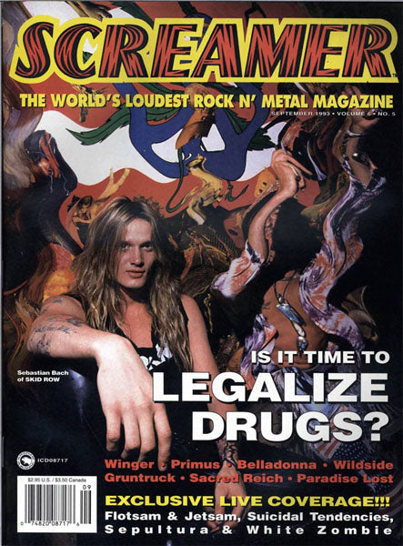 September 1993 Screamer Magazine