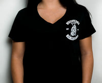 Women's Short Sleeve V-Neck