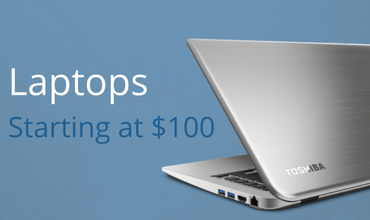 Tech Discounts Laptops Starting at $100
