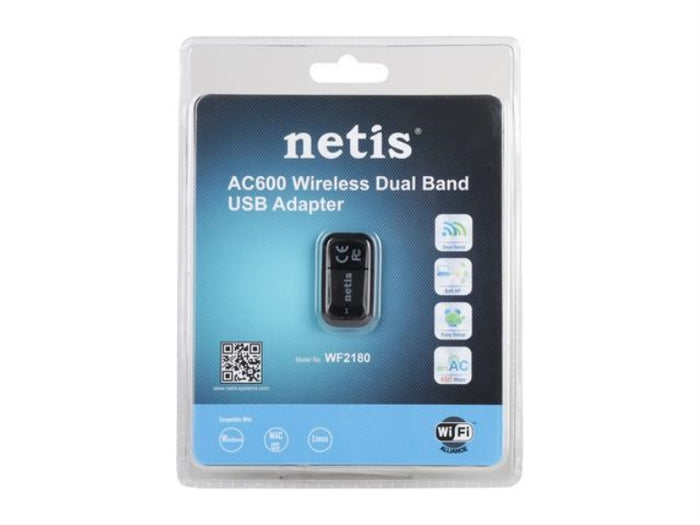 NETIS WF2180 Wireless Dual Band USB Adapter