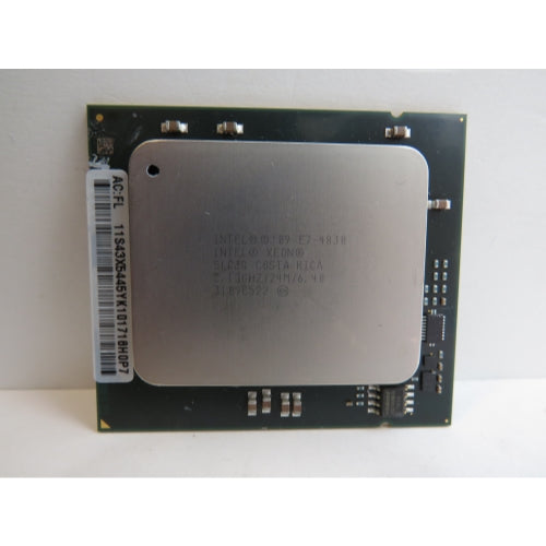 Intel XEON  E7-4830  SLC3Q Processor  Speed: 2.13 GHz,  Cores: 8