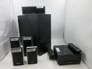Sony DAV-IS10 Home Theater System SA-WSIS10 Subwoofer + 5x Speakers