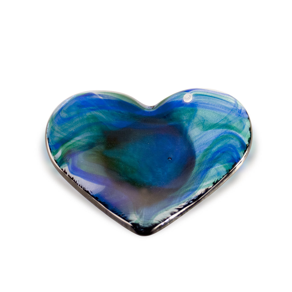 Vintage Murano Heart Shaped Dish | Small
