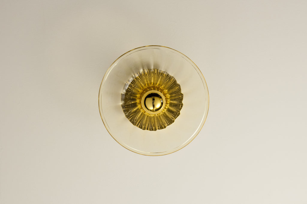 Onda 15 Wall Light | Amber