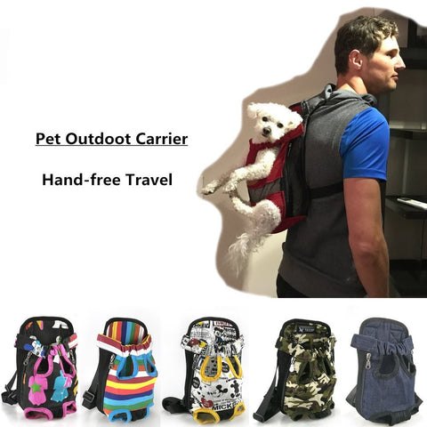 Dog Carriers Fashion Color Travel Dog Bag Puppy Carrier - holicpet