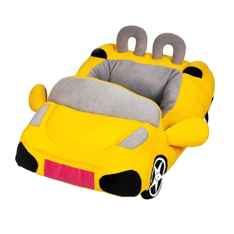 Cool Unique Dog Car Beds Detachable PP Cotton - holicpet