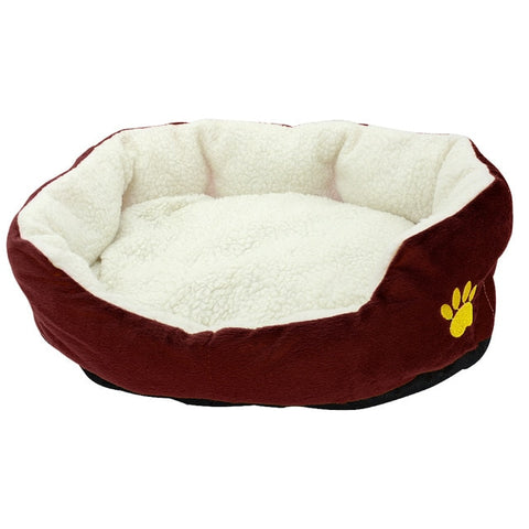 Warm Dog House Winter Sleeping Bag For Small Dogs Cats - holicpet