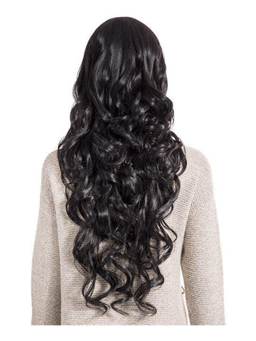 Olivia Curly Full Head Wig in Natural Black - Storm Desire