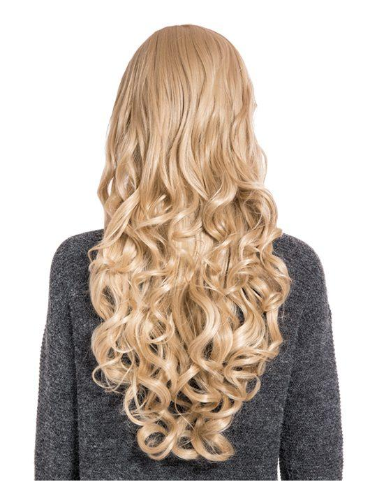 Olivia Curly Full Head Wig in Caramel Blonde - Storm Desire