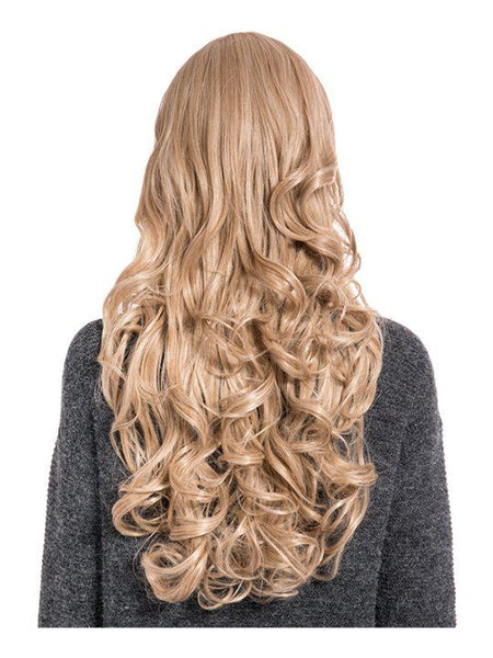 Olivia Curly Full Head Wig in Honey Blonde - Storm Desire