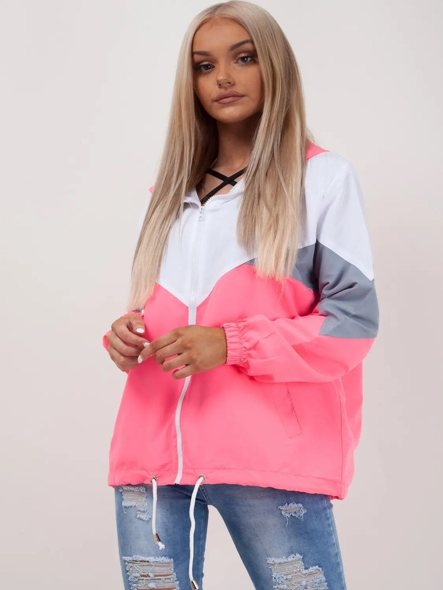 Neon Pink Classic Festival Jacket - Athena