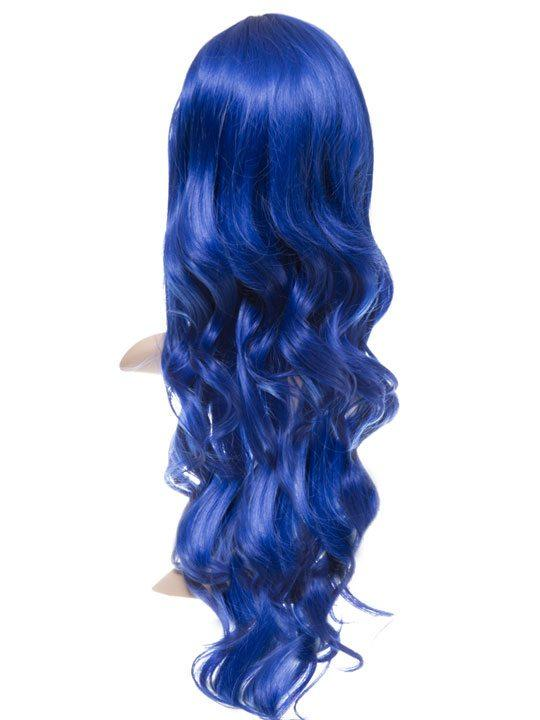 Atlantic Blue Long Curly Party Wig - storm desire