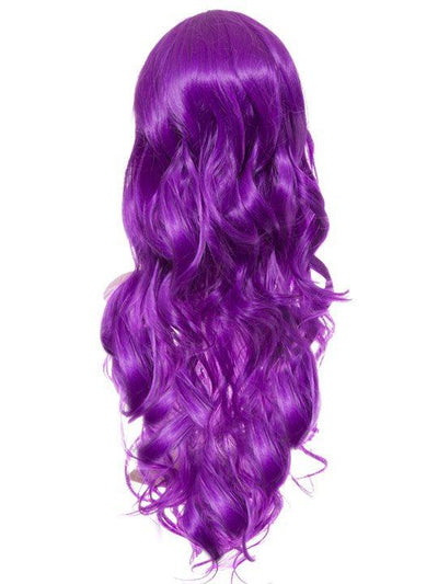 Violet Long Curly Party Wig - Storm Desire
