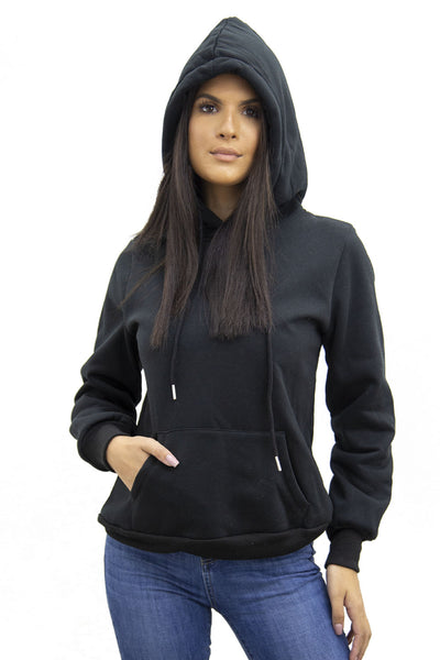 Black Jersey Casual Lounge Hoodie - Kelly