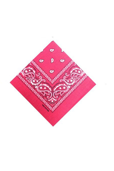 Paisley Bandana Scarf - Multiple Colours