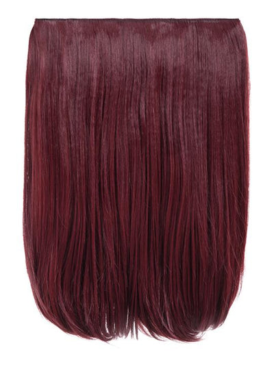 Dolce 1 Weft 18″ Straight Hair Extensions In Burgundy - storm desire