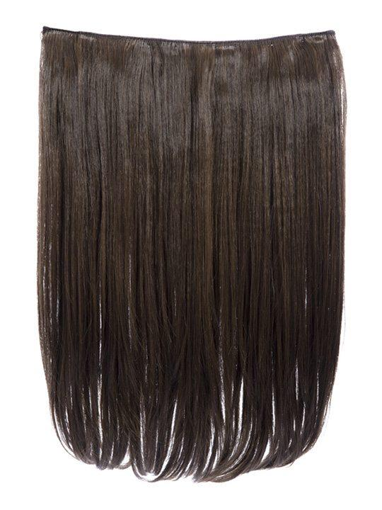 Dolce 1 Weft 18″ Straight Hair Extensions In Dark Brown and Caramel - storm desire
