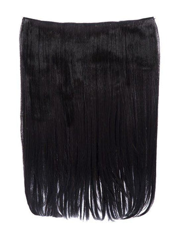 Dolce 1 Weft 18″ Straight Hair Extensions In Dark Brown - storm desire