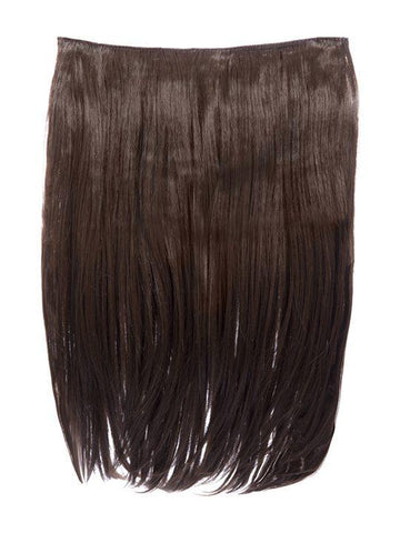 Dolce 1 Weft 18″ Straight Hair Extensions In Chestnut Brown - storm desire